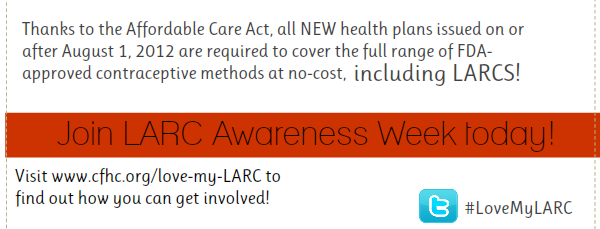 Do you love your LARC?