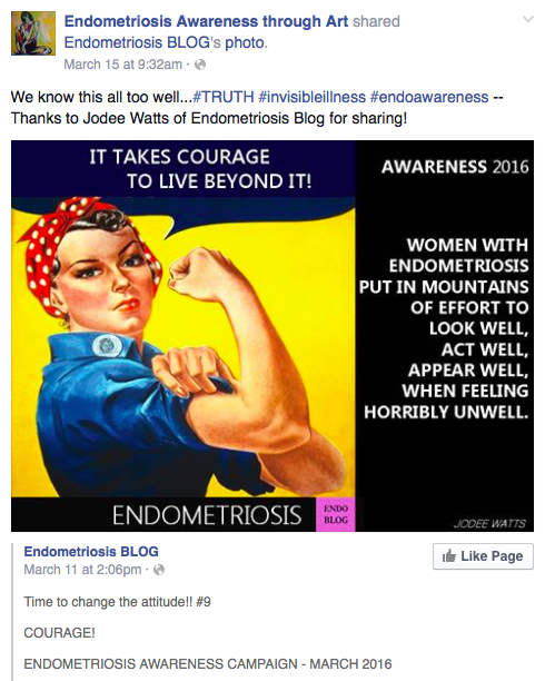 #Endometriosis art, film and a graphic book: Endo Weekend Links #3