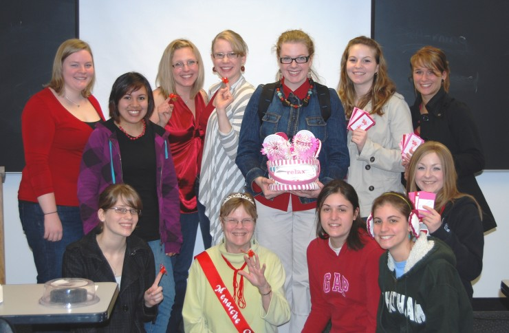 Dr. Stubbs and her students challenge menstrual stigma.