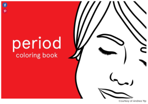 Period Coloring Book