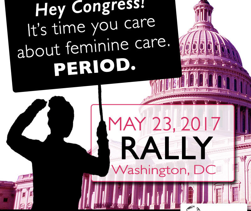 DC Rally May 23 for Safe Feminine Care Products